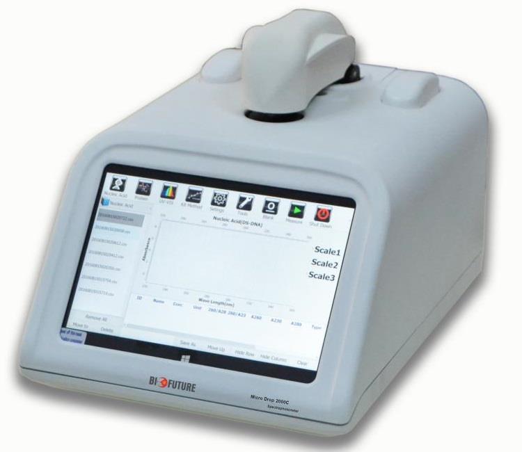 MD2000D微量分光光度计