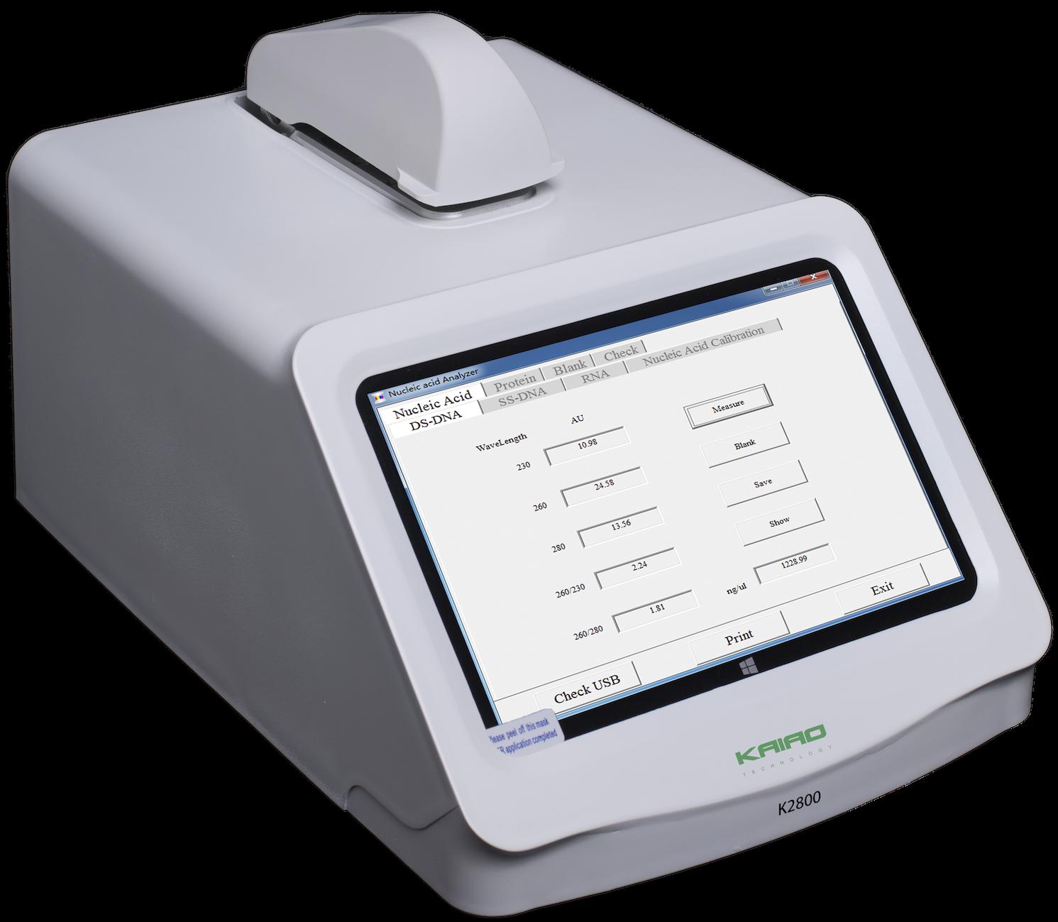 K2800核酸蛋白分析仪