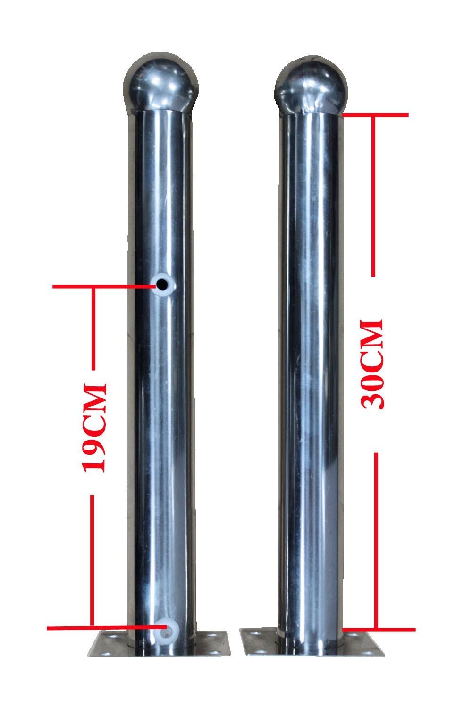不锈钢周界对射支说道架