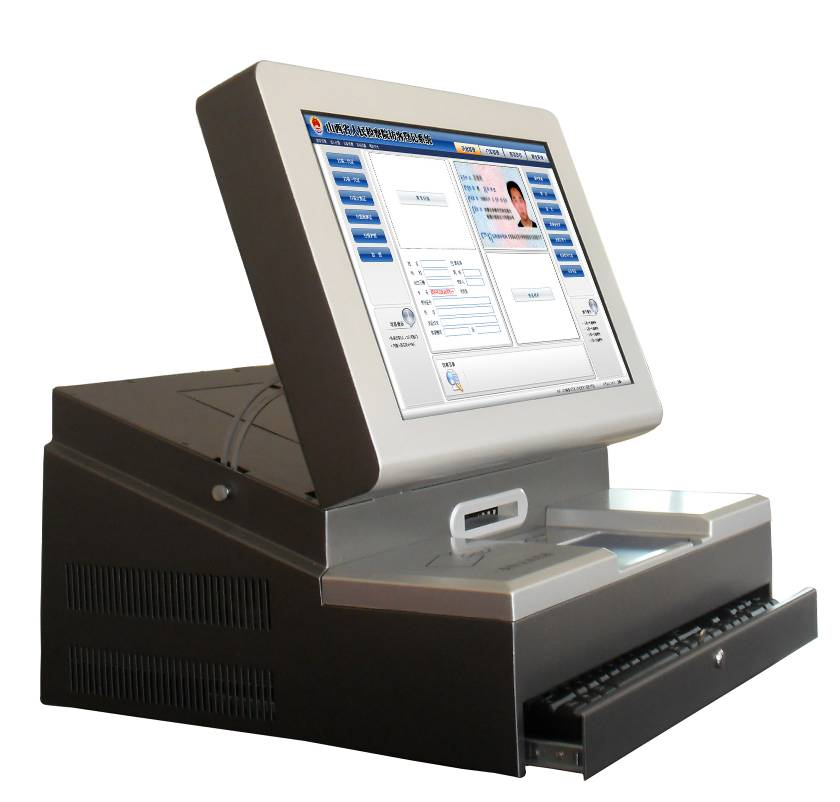 FK-D17 访客登记与更多的出版社合作机(17寸)
