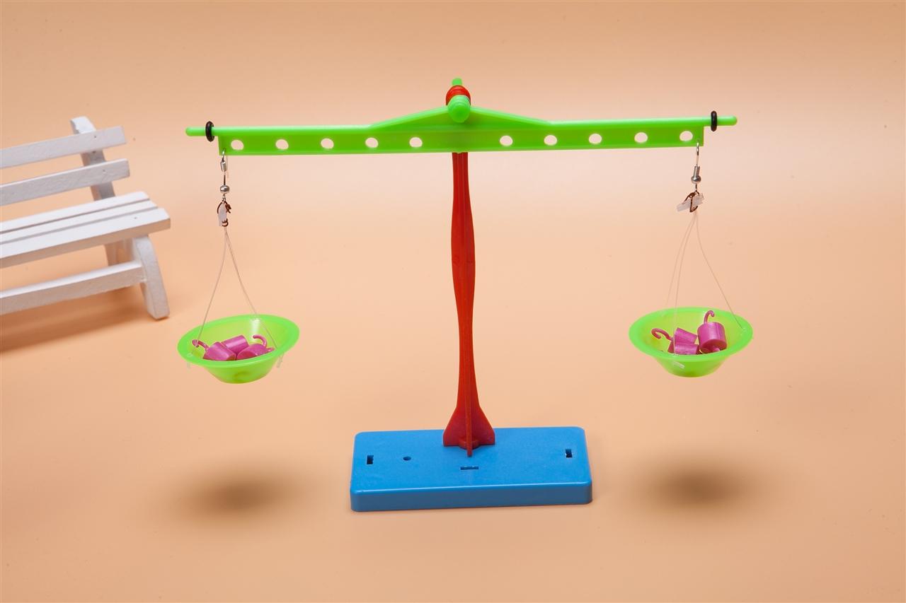 力学-科技小制作—小玩童 小学生少儿科学实验器材料