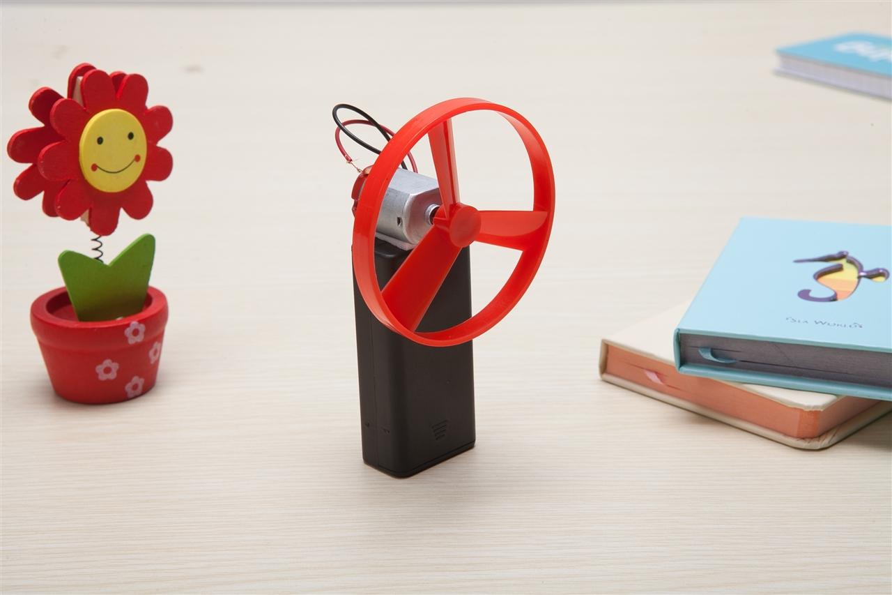 科技小制作-简易电扇