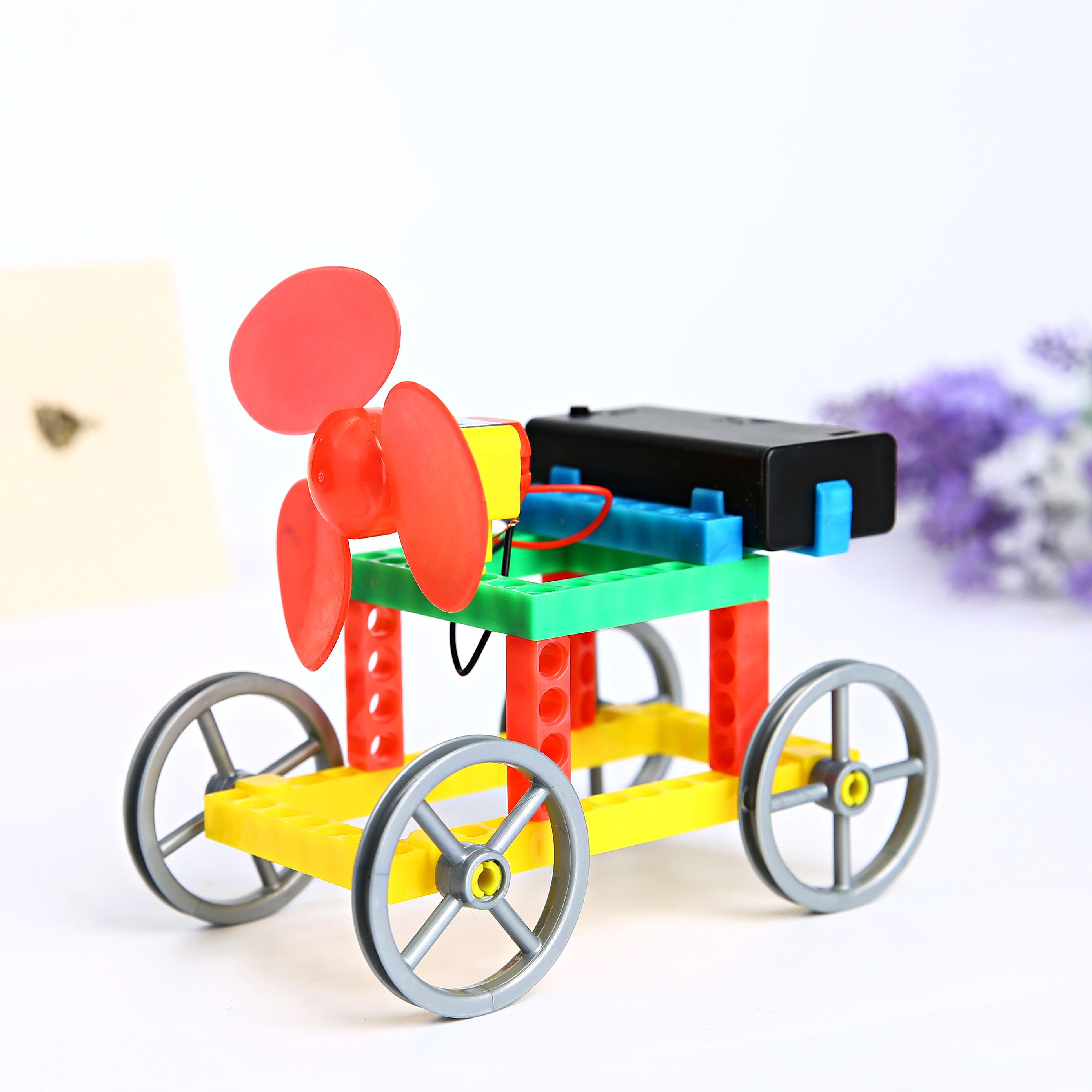 科技小制作-风力小车
