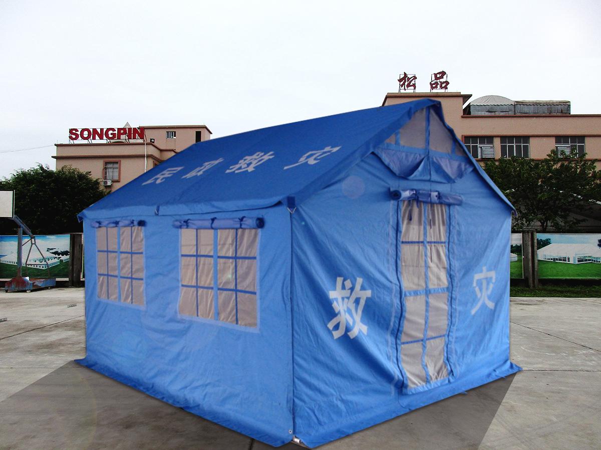 军工加厚保暖牛津布棉帐篷户外工程工地野外施工民用救灾帐蓬防雨