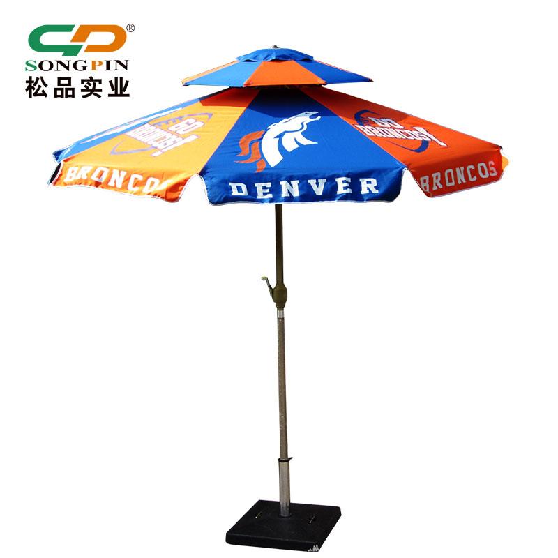 定做休闲庭院伞手摇园林香蕉伞大型户外广告伞沙滩遮阳伞LOGO印刷