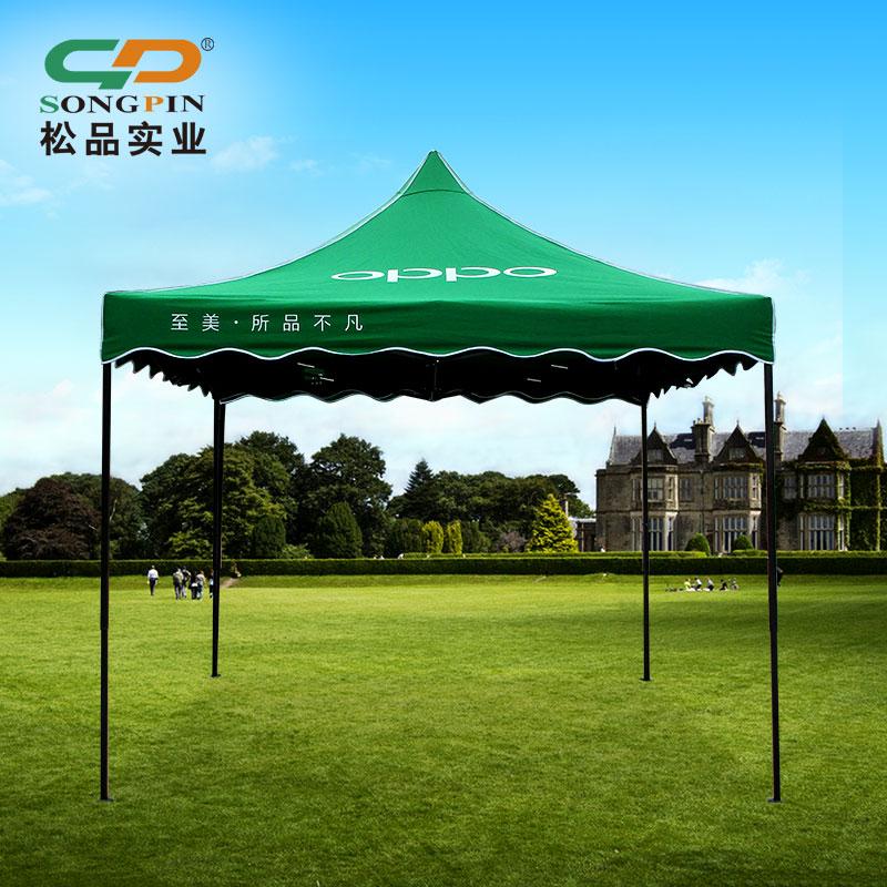 定制多色热转印广告帐篷出口高档铝支架折叠帐篷 Exhibition tent