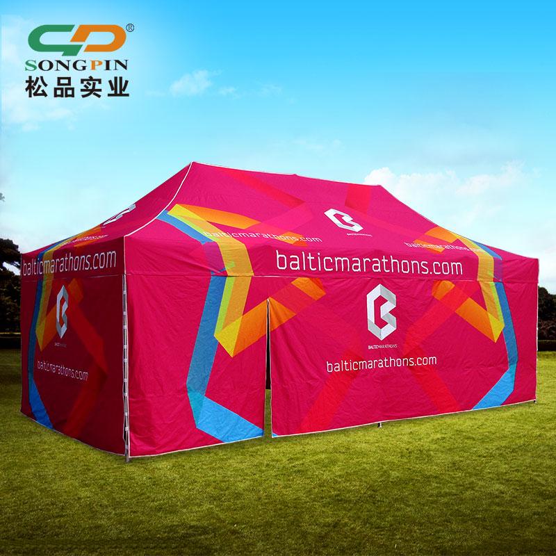 厂家定制广告四角折叠魔术帐篷广告帐篷商品展示促销广告展览帐篷