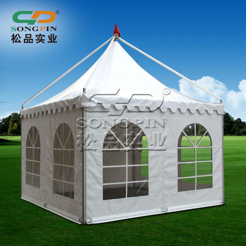 定制定做户外大型会展车展帐篷吊顶尖顶欧式婚礼篷房婚庆摄影篷房