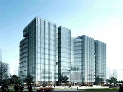 金泰国际大厦外观图