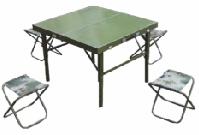 4人战备折叠餐桌