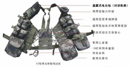 单兵战斗携行具-狙击手型