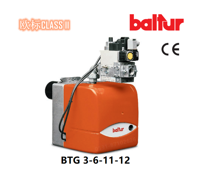 百得燃烧器 BTG 3-6-11-12 燃气燃烧器