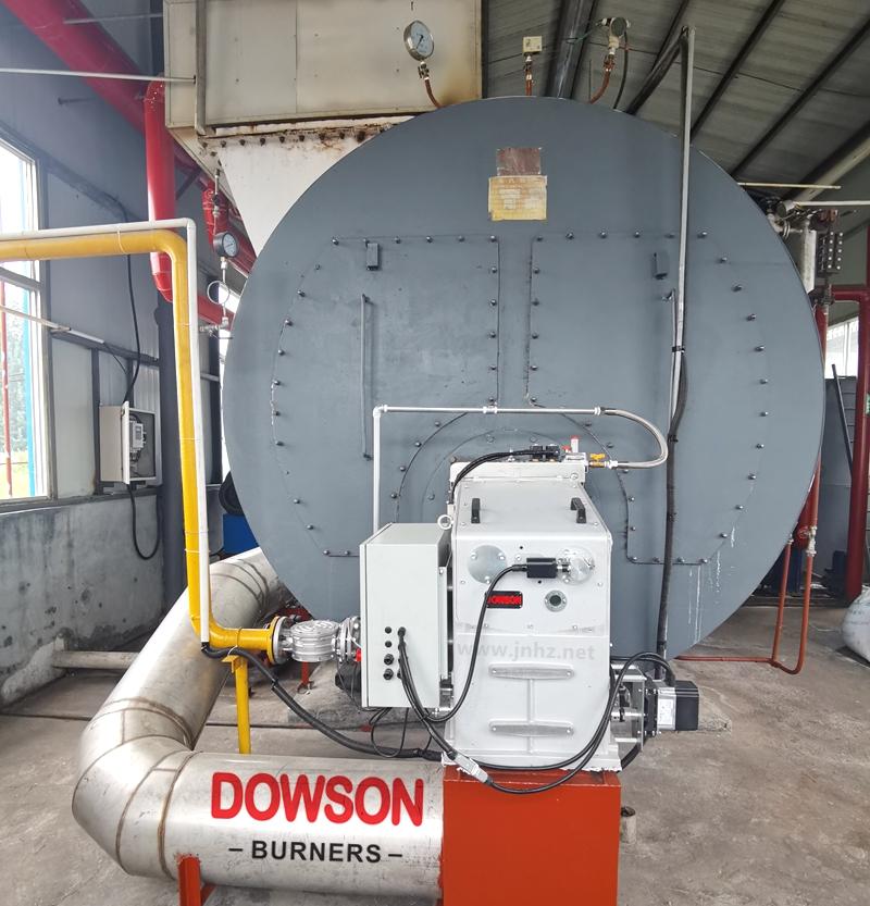 德州地区10吨蒸汽锅炉配:道森低氮热风分体燃烧器TB9SE FGR
