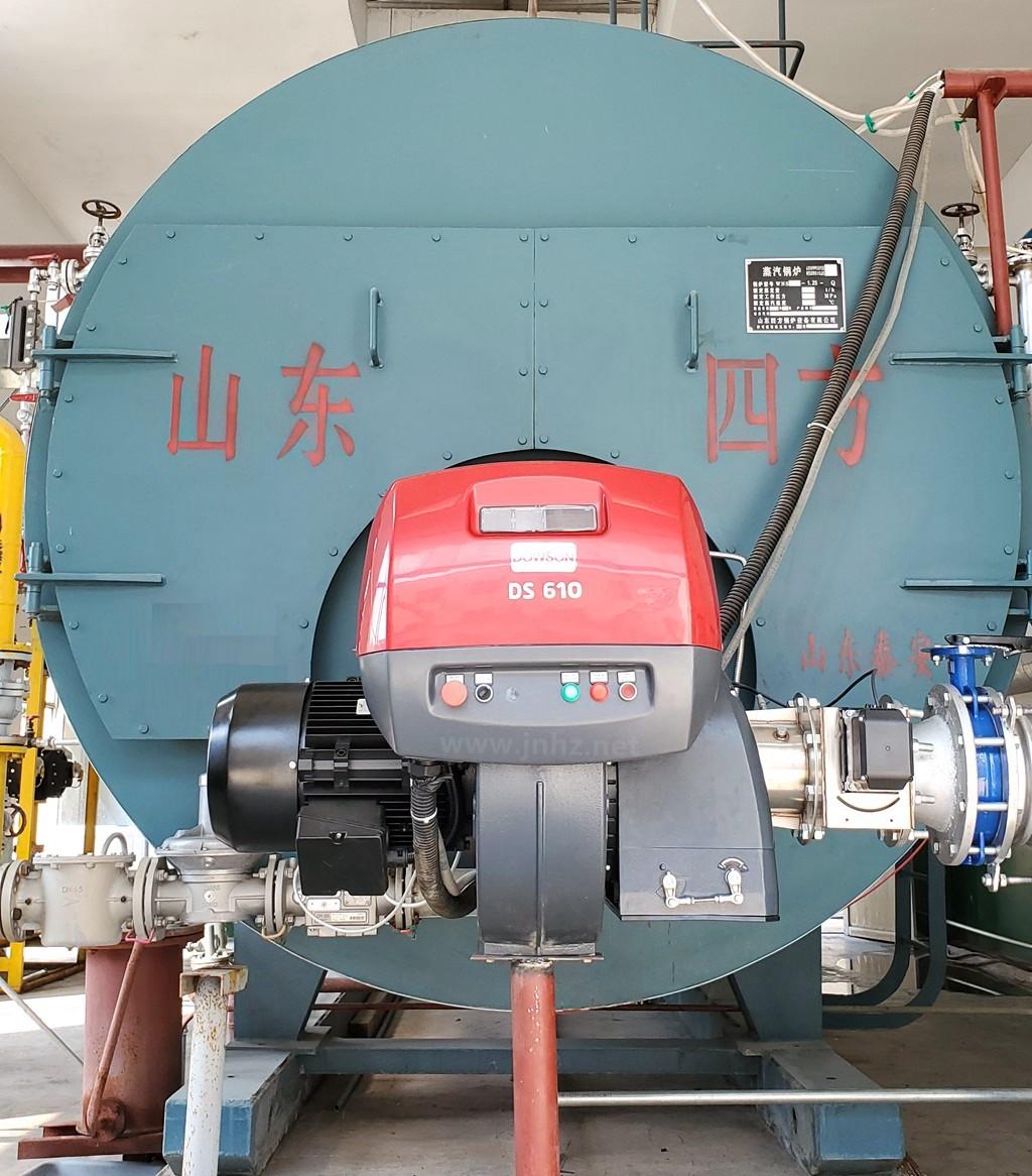 济宁地区:6吨蒸汽锅炉配 DOWSON 道森低氮燃烧器 DS610/E FGR