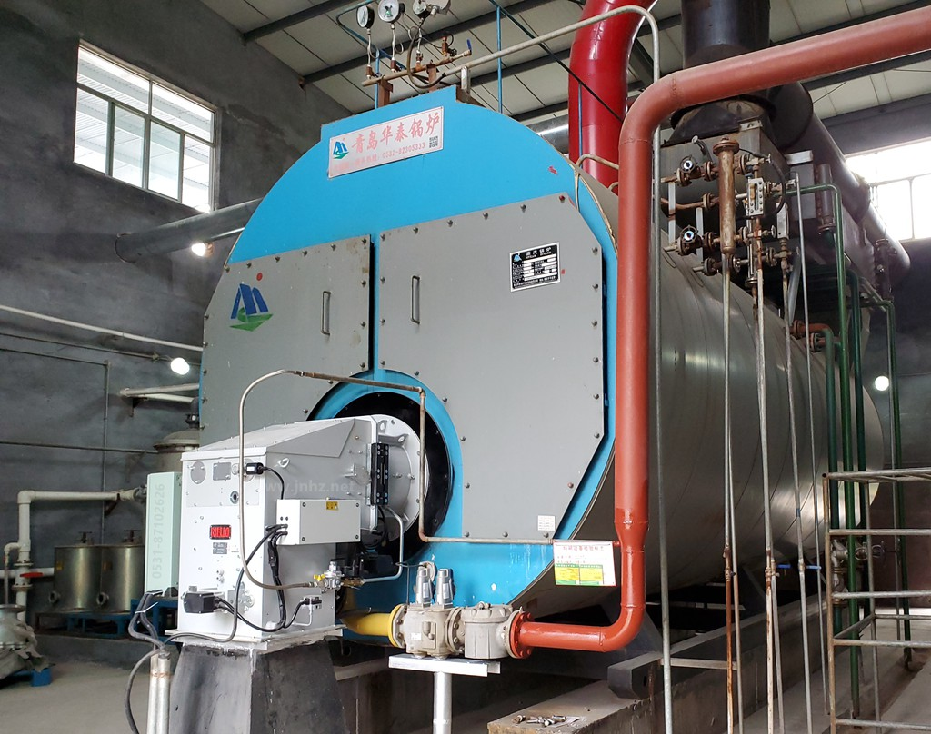 15吨蒸汽锅炉低氮改造:利雅路分体燃烧器(DB16 SE FGR)德州地区项目案例
