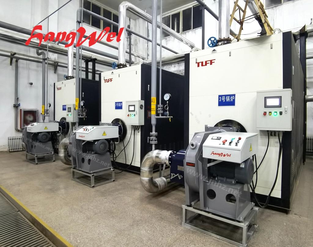 海威(HANGWEL) 4吨超低氮燃烧器改造案例:济南某学院