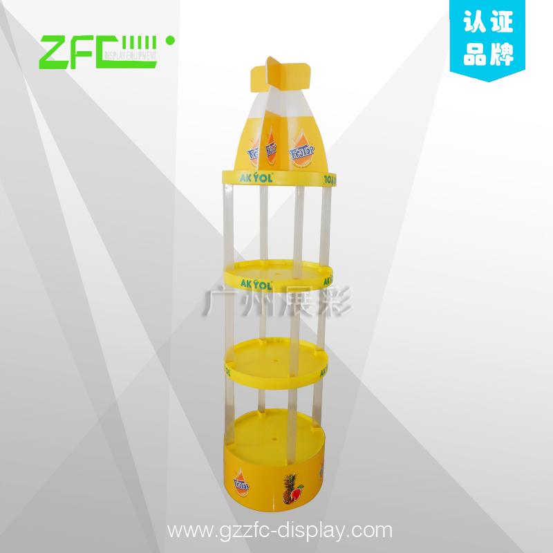 塑料展示架 - ZFC-HZ10