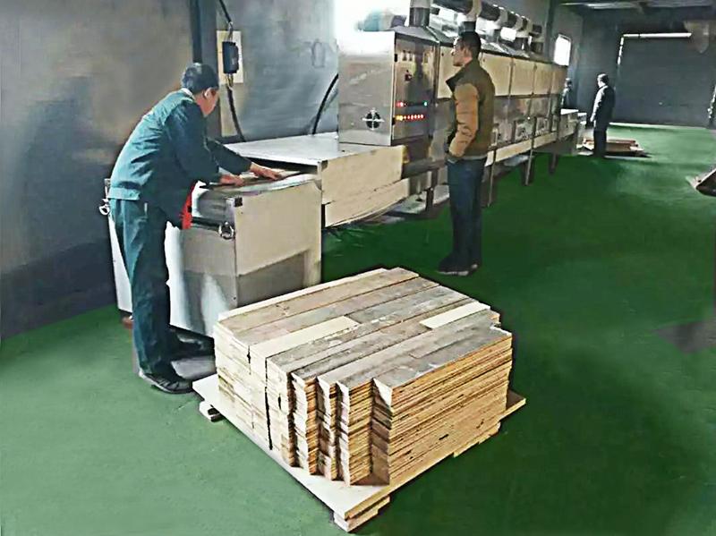 微波木材、纸板、石棉板、保温板干燥设备