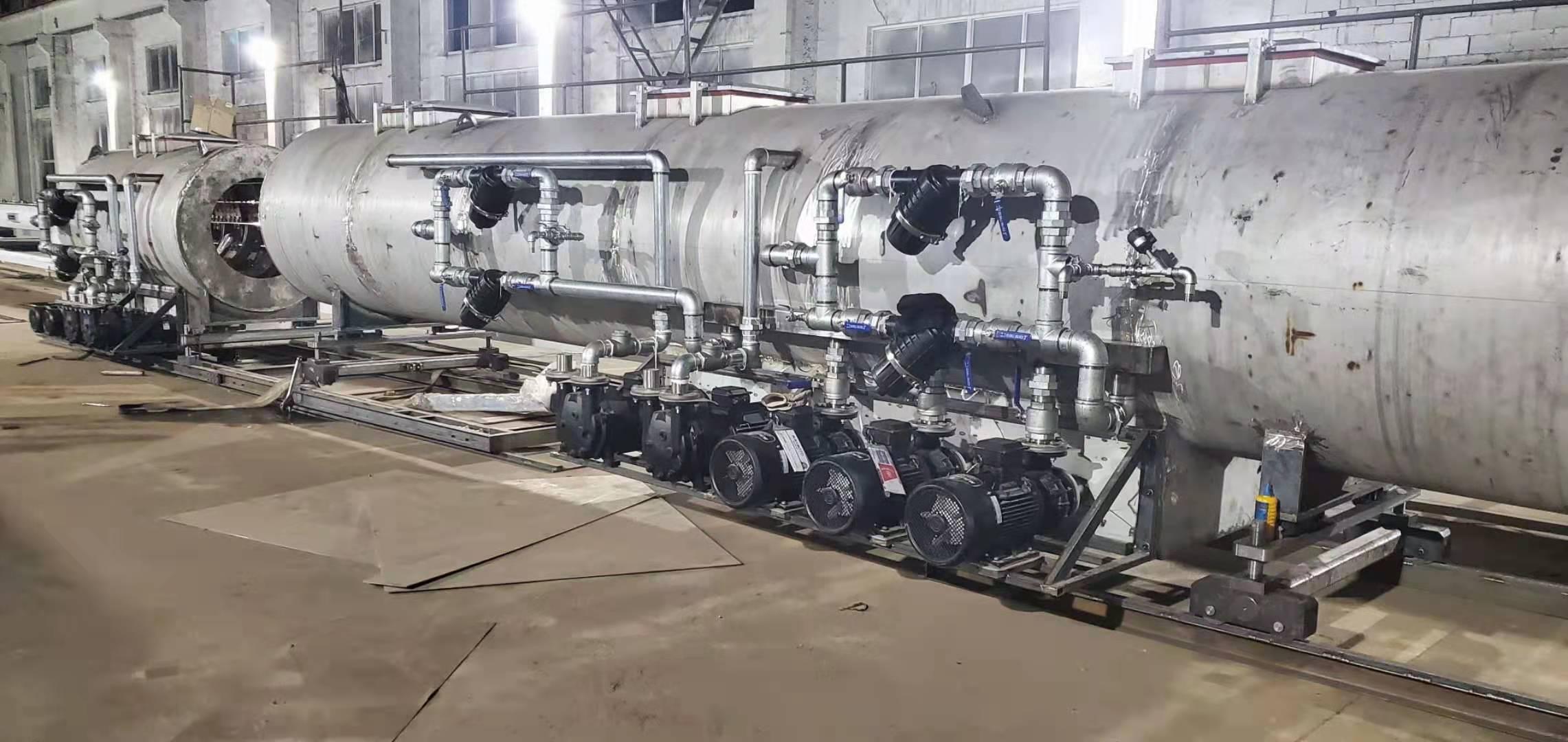 在线体彩购买靠谱的滚球平台真空泵应用于塑料挤出行业