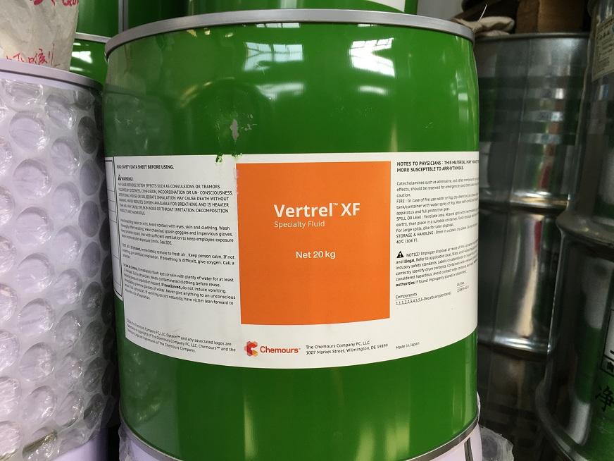科慕Vertrel XF最新万博客户端下载 特种氟化液 相变冷却用 美国原装进口 现货