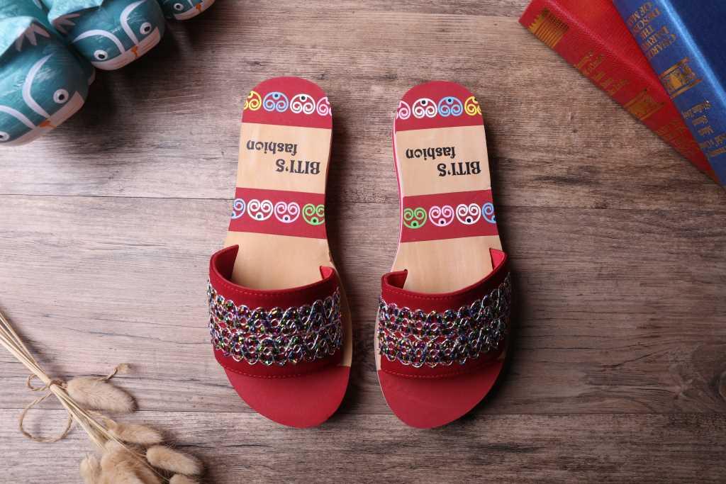 越南平仙舒适套脚女拖鞋