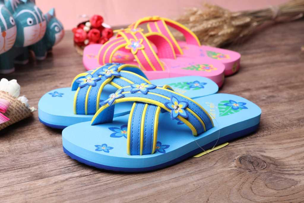 平仙时尚童拖鞋