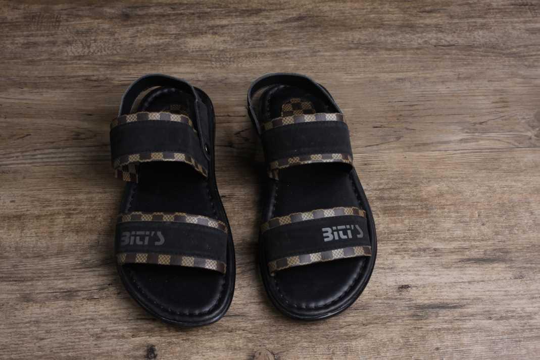 越南平仙新款两用男凉拖鞋