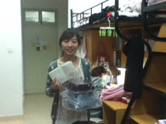 联横2011年春学员领取证书