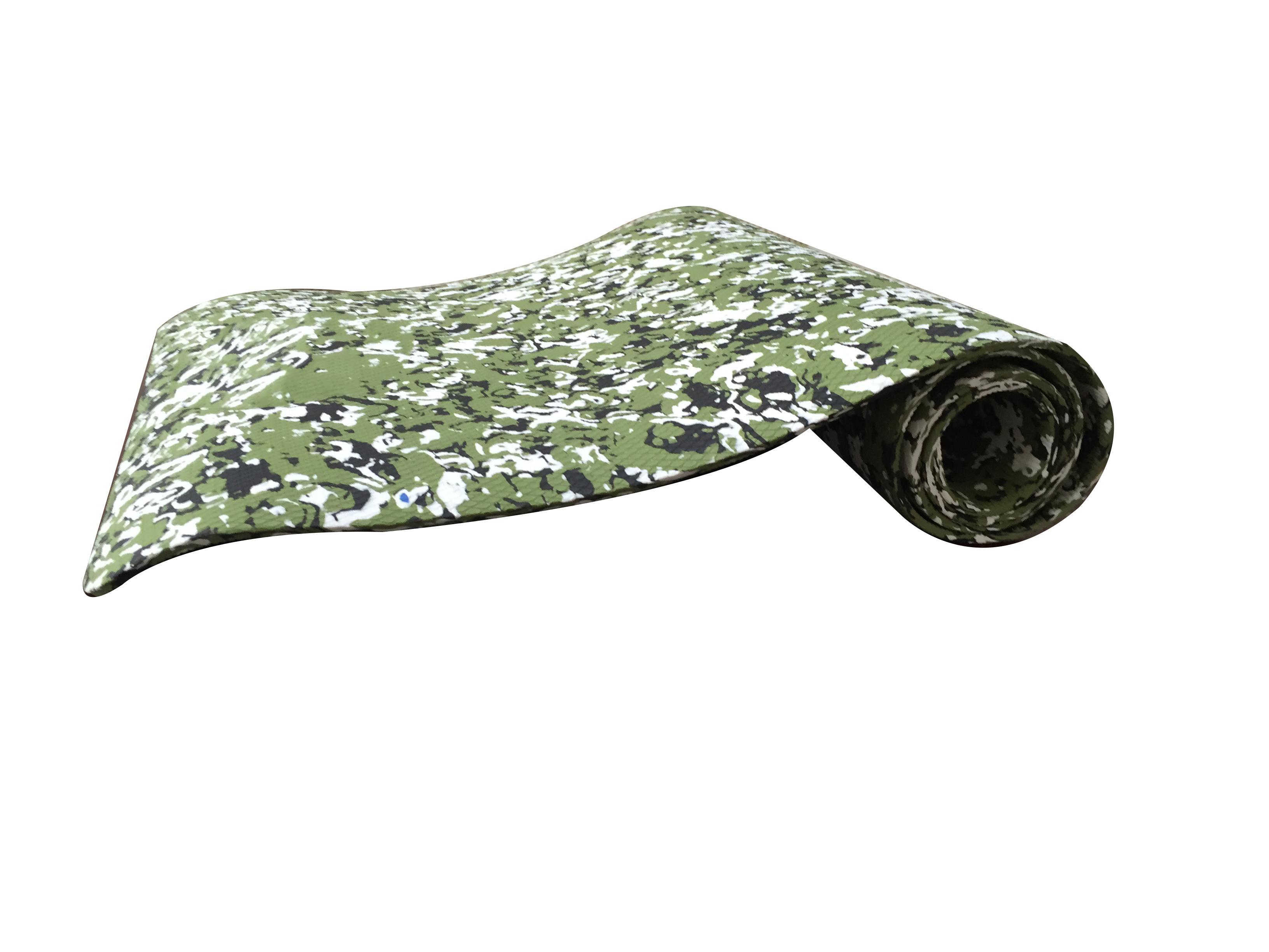 迷彩TPE瑜伽垫