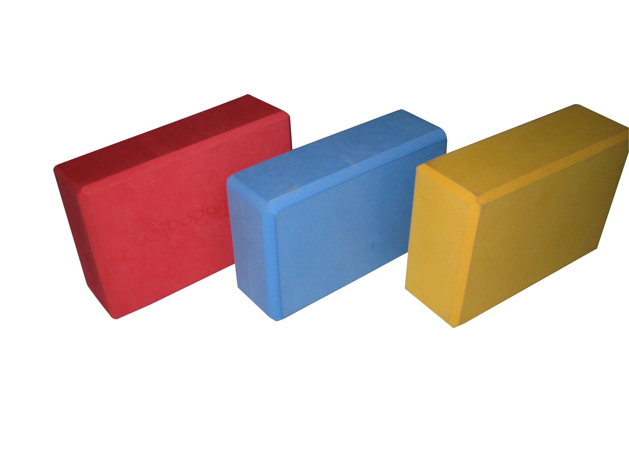 单色PE瑜伽砖