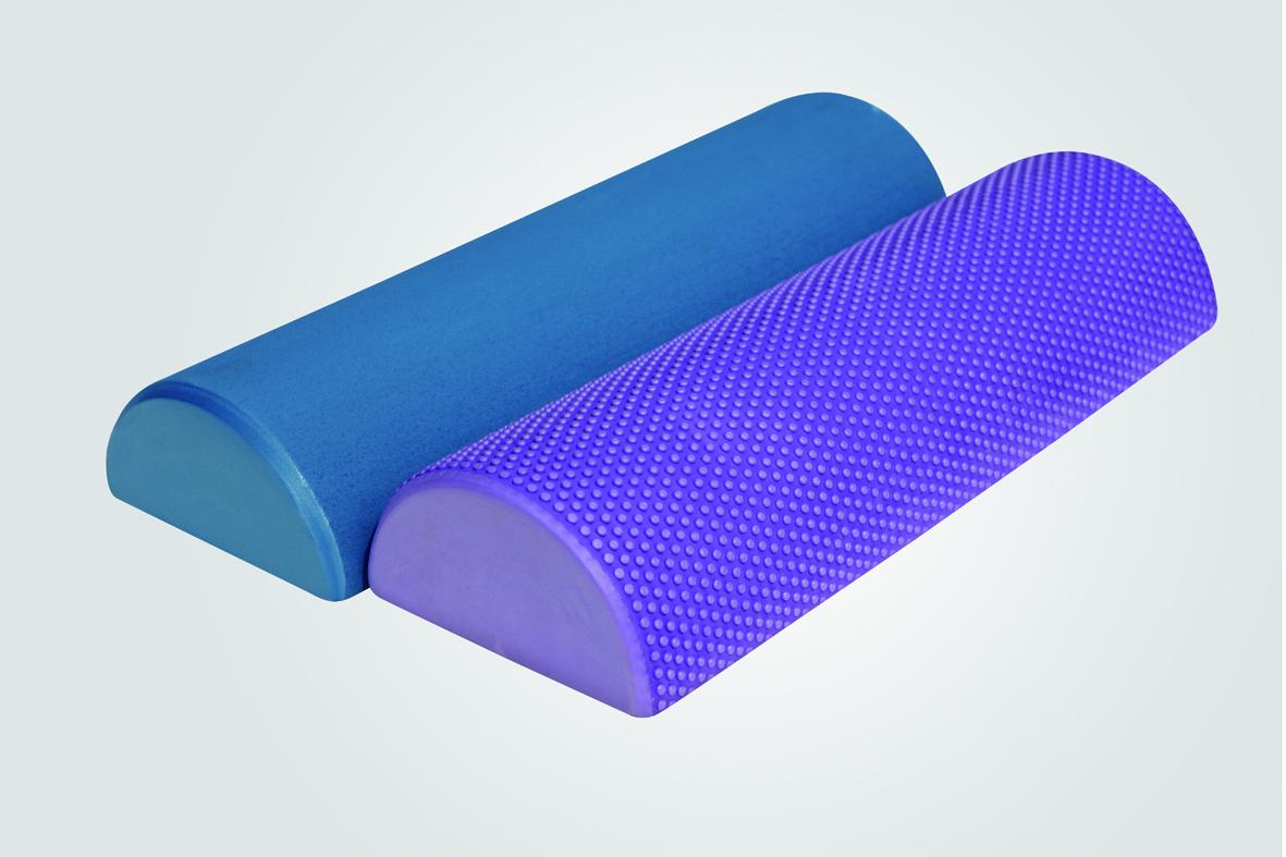 单色PE瑜伽柱(半圆型)