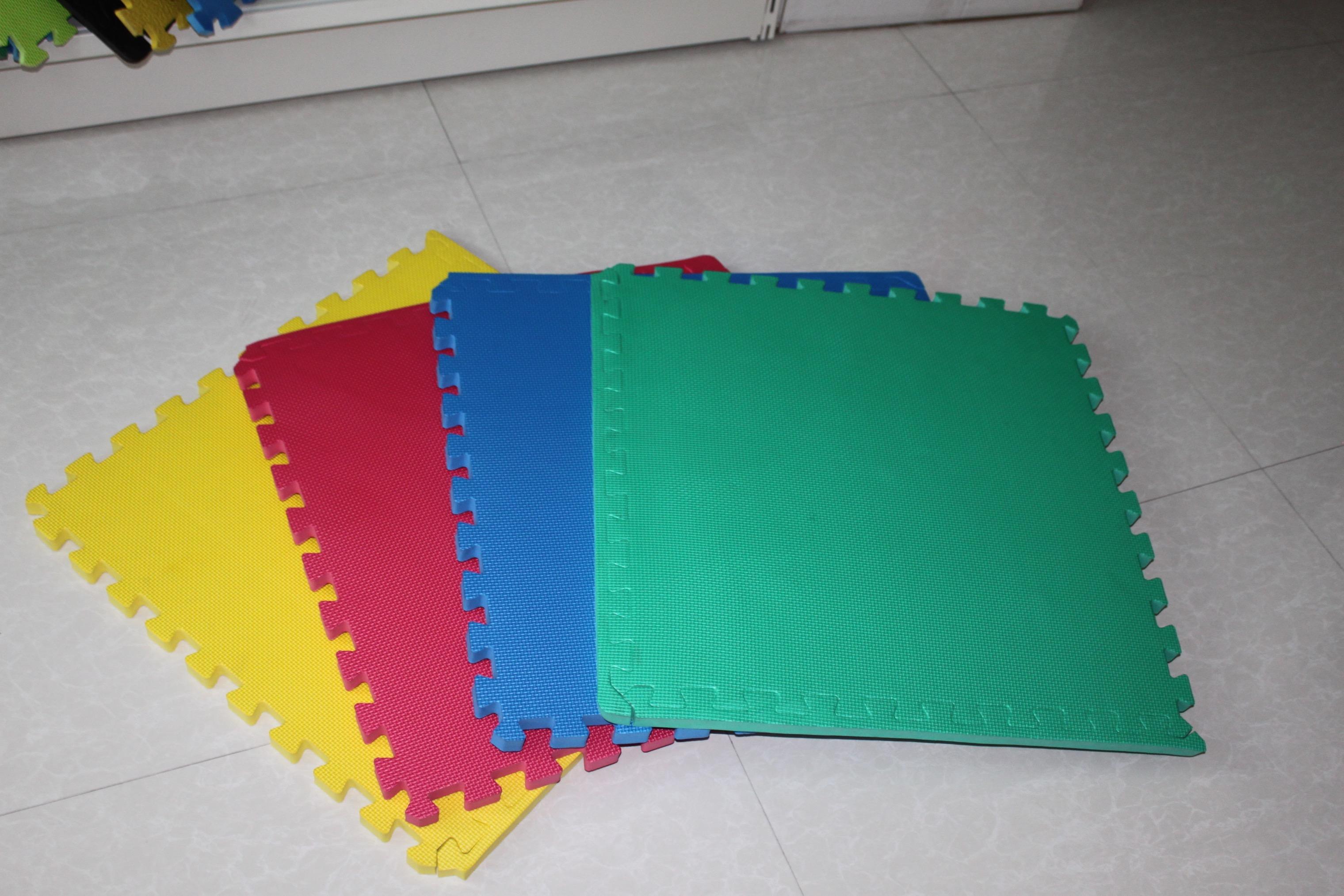 彩色拼接垫