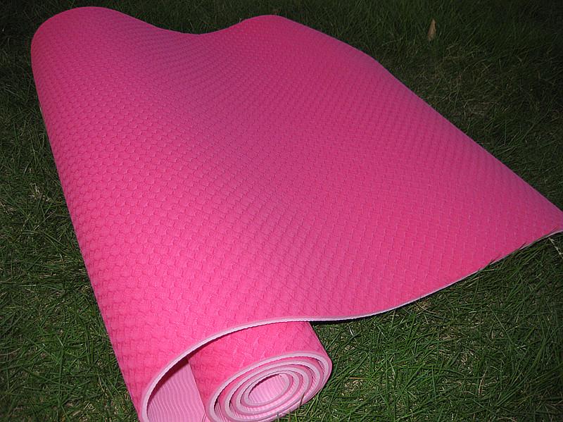 双色TPE瑜伽垫