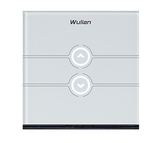 Wulian单火线单路触摸调光开关