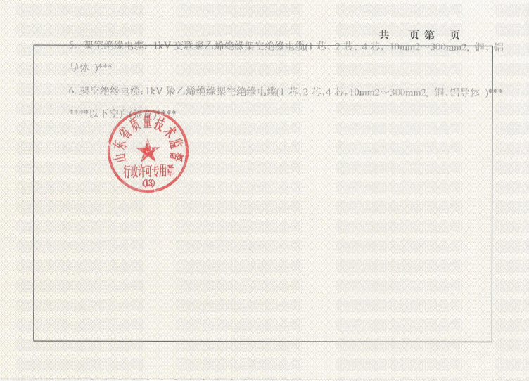 工业品生产许可证3