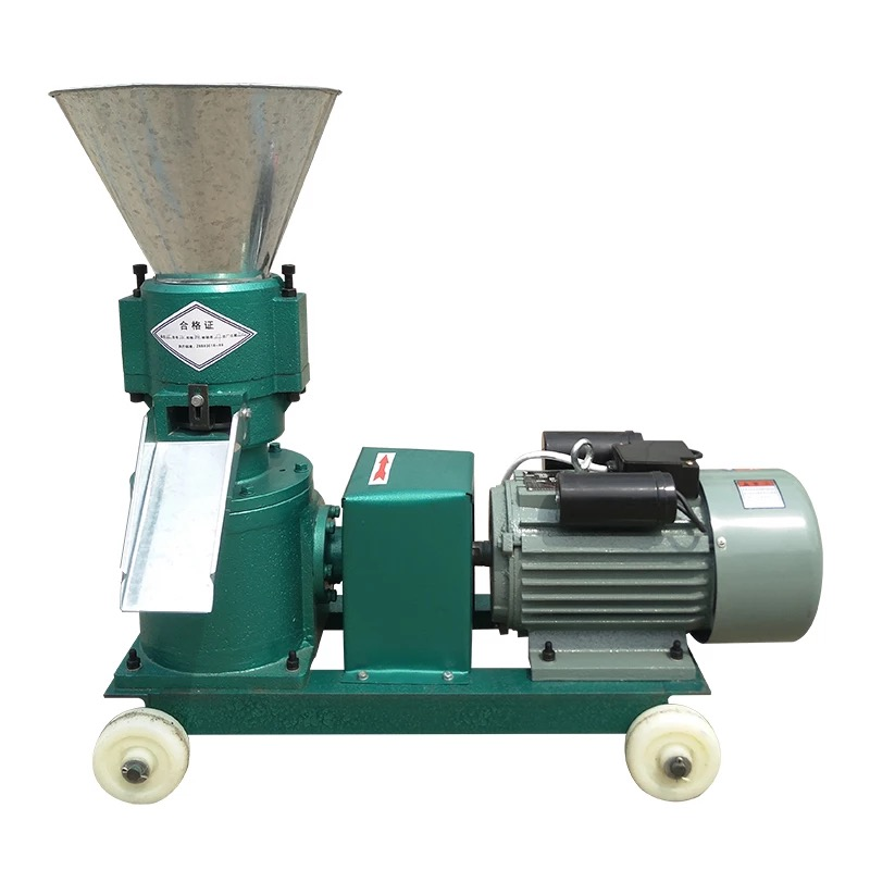 Straw crop feed pellet making machine