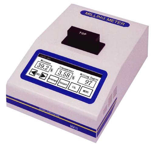 Rice whiteness meter