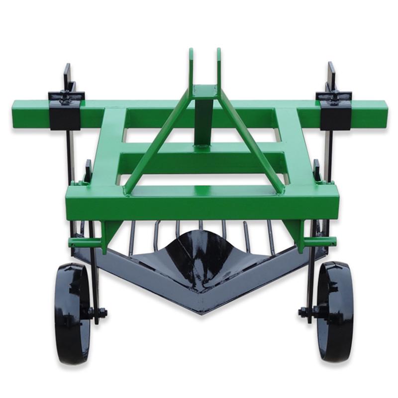 四輪拖拉機帶的紅薯地瓜收獲犁薯類收獲機械農機具農用紅薯收獲機