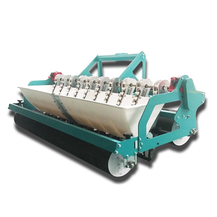 全新大蒜播種機多規格六行十行大蒜播種機四輪車帶播種機含平土器
