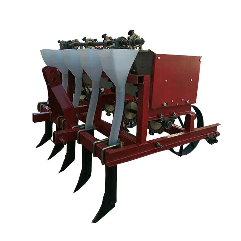 兩行小型家用種蒜機人力手推式大蒜播種機種蒜機器蒜頭精播栽蒜機