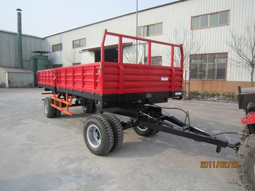 液压拖拉机自卸拖车图片