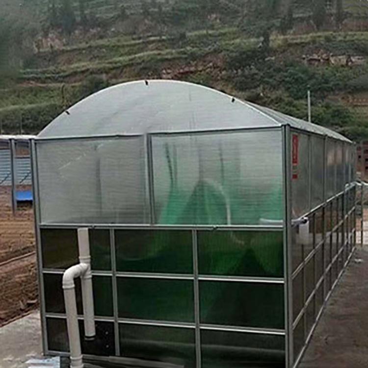 农用太阳能沼气池3-300立方养殖场粪水处理设备沼气池沼气储气池
