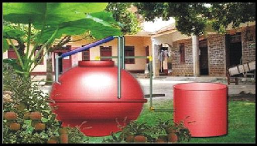 太阳能户用沼气储存及发电系统