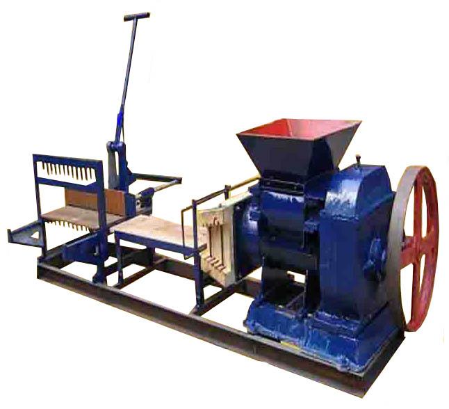 小型粘土制砖机