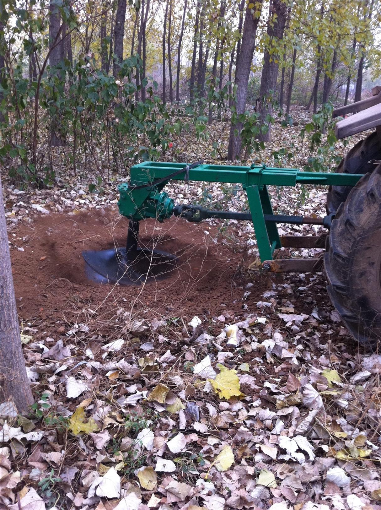 WKJ系列后式挖坑(半挂安装)