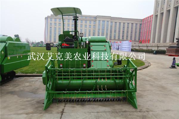 2016新款农用联合收割机 水稻收割机