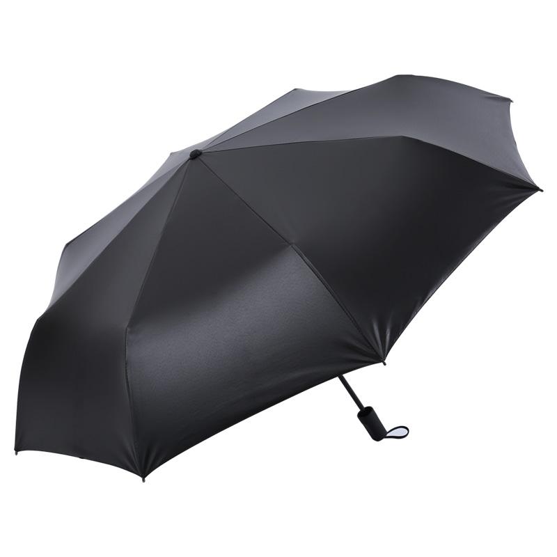 广西快3中奖规则 三折手动折叠遮阳伞 防紫外线女士太阳伞 M3335樱花