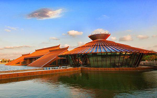 上海松江广富林演艺中心室内剧场及观演广场