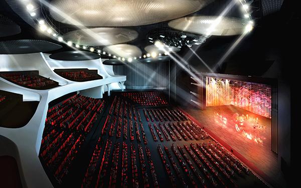 上海证大喜马拉雅中心大观舞台