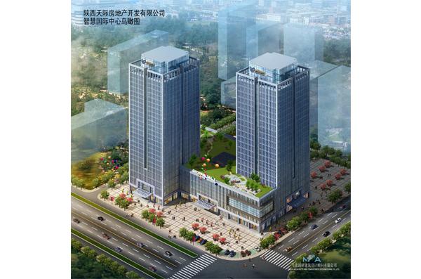 项目位于西安市北郊文景路与凤城十路交叉口,总建筑面积约